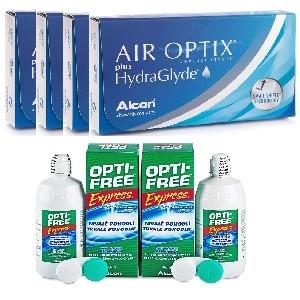 Offerta Semestrale Air Optix Aqua con Hydraglyde