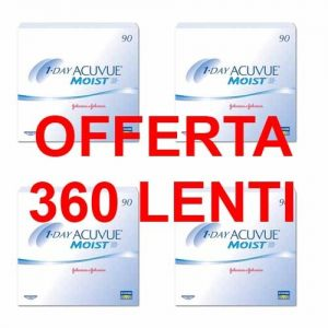 Offerta Acuvue Moist 1 Day 360 Lenti