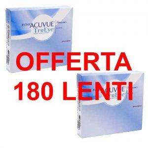 Offerta Acuvue 1 Day TruEye 180 Lenti