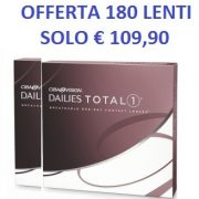 Offerta Focus Dailies Total 1 one 180 LAC