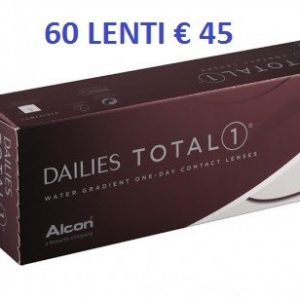 Offerta Focus Dailies Total 1 one 60 LAC