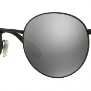 Ray-Ban 3537 SHINY BLACK lenti grey mirror silver