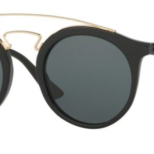 Ray-Ban 4256 BLACK colore 601/71 lenti dark green LARGE