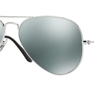 Ray-ban 3025 SILVER colore W3277 lenti crystal grey mirror