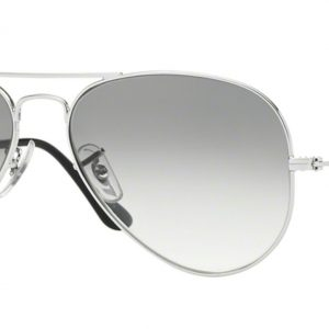Ray-ban 3025 SILVER colore 003/32 lenti crystal grey gradient