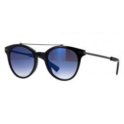 nuovo stile 6a129 5719d MYTH 2 Occhiale da sole POLICE SPL 141 colore 700B Nero lucido Lenti smoke  gradient/ mirror blue