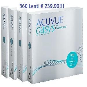 OFFERTA OASYS ONE-DAY CON HydraLuxe 360 Lenti