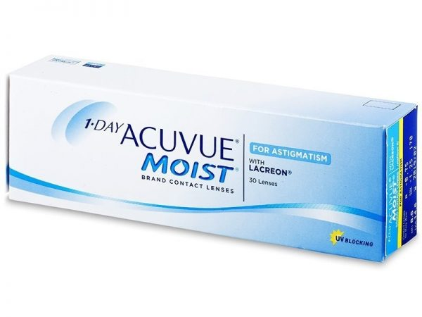 Acuvue 1 Day Moist for Astigmatism