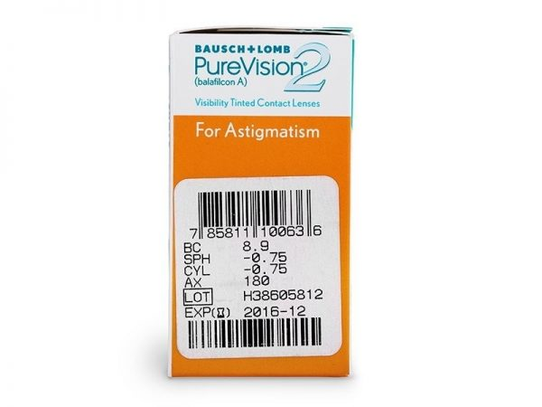 Purevision 2 for Astigmatism Bausch and Lomb